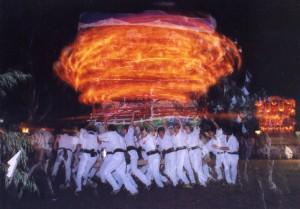 吉良川花台夜