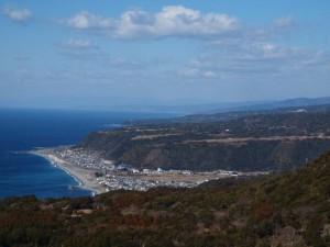 枦山海成段丘:写真1