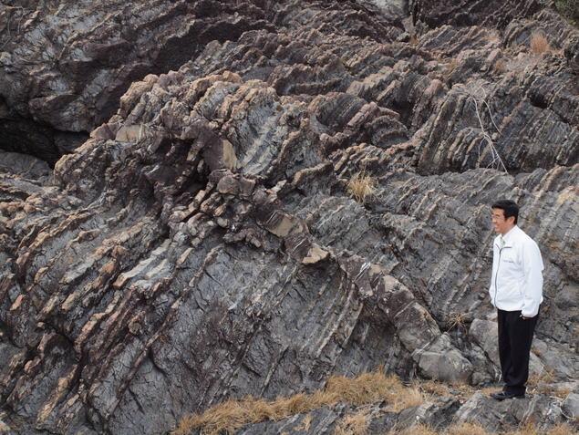 砂岩脈:写真2