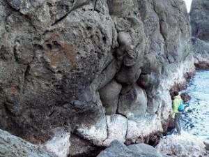 枕状溶岩:写真1