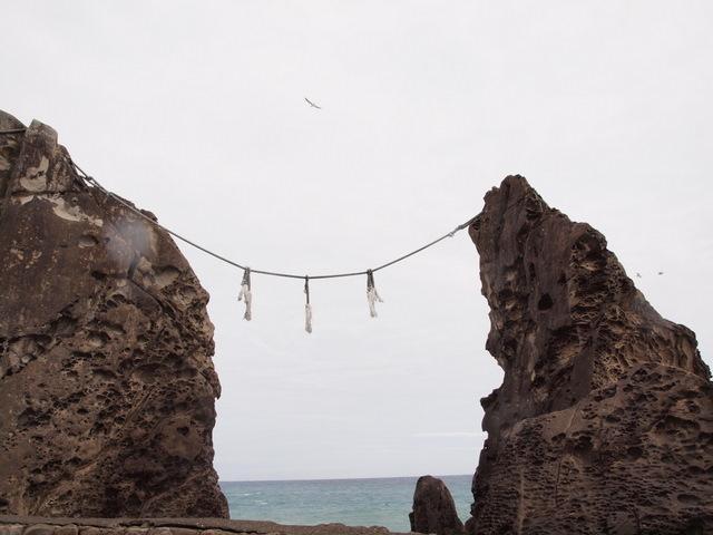 鹿岡鼻の夫婦岩:写真1