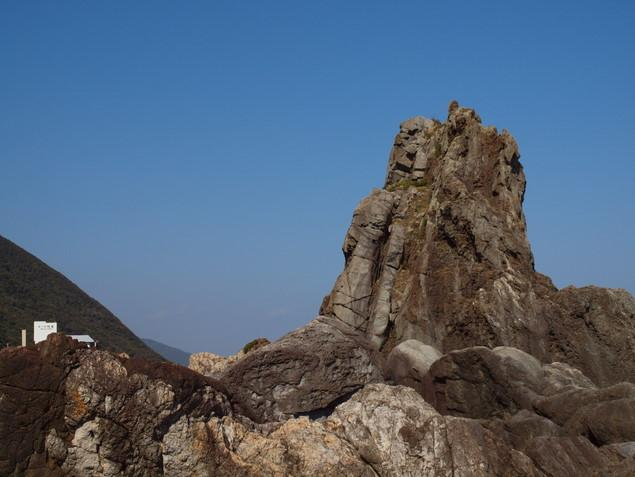 ビシャゴ岩:写真1