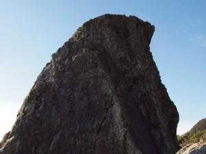 エボシ岩:写真1