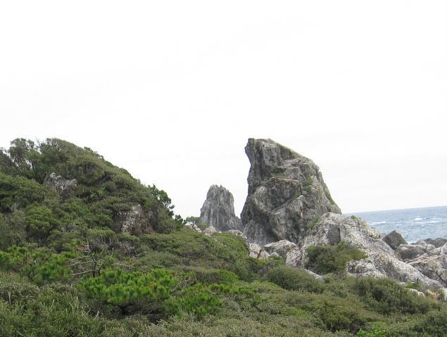 エボシ岩:写真2